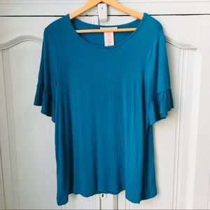 Philosophy Blue Blouse